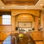 copper-tray-ceiling-custom-column-pullout-spice-racks