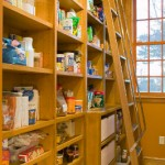 custom-pantry-with-rolling-ladder