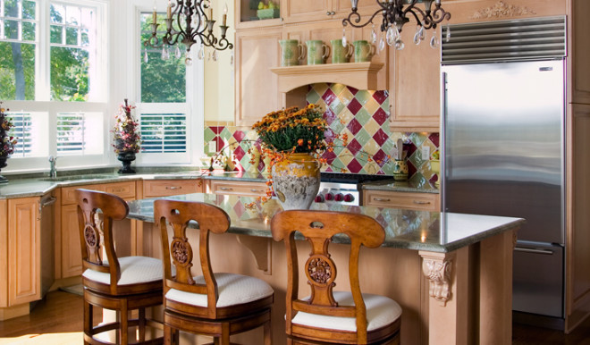 What's Your Style? Eclectic Kitchens.It's A Little Bit Country, It's a Little Bit Rock N' Roll