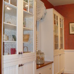Custom White Beadboard Cabinetry & Beaded Wainscot Panels