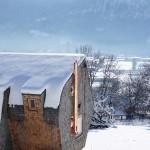 strange-tiny house in Winter2 18